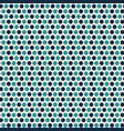 contemporary light and dark blue polka dot vector image