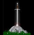 excalibur vector image vector image