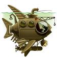 fish submarine vector image vector image