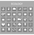 flat color icons set and graphic design vector image