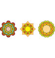 Flower symbol vector image vector image