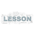 lesson icons for education graphic design vector image vector image