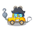pirate character clockwork car for toy children vector image vector image