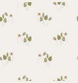 seamless cute small hand drawn sketch vector image vector image