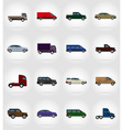 transport flat icons 17 vector image vector image