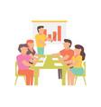 workshop for business design vector image