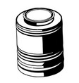 3d model of barrel on a white vector image vector image
