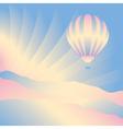 air balloon in sky vector image