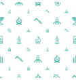 flame icons pattern seamless white background vector image vector image