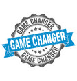 game changer stamp sign seal vector image vector image