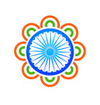 indian flag design concept vector image vector image