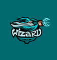 mascot of the basketball team vector image