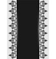 ottoman serial patterns ten vector image vector image