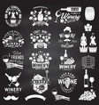 set of winer company badge sign or label vector image vector image