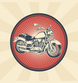 vintage badge sticker vector image vector image