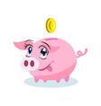 Moneybox Clipart vector image