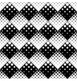 abstract monochrome geometrical seamless dot vector image vector image