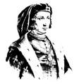 charles vi of france vintage vector image vector image