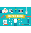 Concept of equipment for design vector image vector image