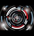 galatic tunnel vector image