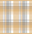 gold silver color check fabric texture seamless vector image