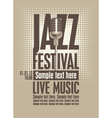 Jazz festival vector | Price: 1 Credit (USD $1)