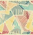 retro cloth seamless texture vector image
