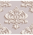 Seamless wallpapers in the style of Baroque Can vector image
