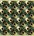 vintage gold seamless pattern baroque vector image