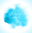 Watercolor abstract colorful textured background vector image vector image