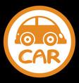 zone car vector image vector image