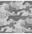 Abstract camouflage pattern vector image vector image