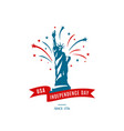 american national holiday 4th of july usa vector image