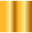 Gold texture Golden smooth background vector image vector image