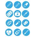 icon medic vector image vector image