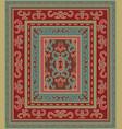 oriental vintage ornament vector image