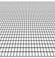 perspective grid view at an angle background vector image
