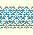 seamless ethnic floral pattern vector image