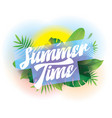 summer time background for posters and vector image vector image