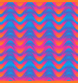 sunny color wave seamless pattern vector image vector image