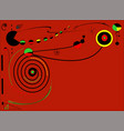 abstract red background -17-159-a vector image vector image