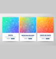 cinco de mayo flyer concepts vector image
