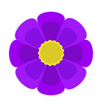 cute flower icon vector image