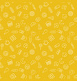 Fast food yellow pattern - seamless texture