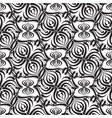 floral seamless pattern white backgroun vector image