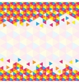 Geometric Triangular Pattern vector image vector image