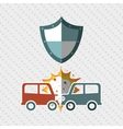 insurance concept design vector image vector image