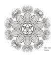 soul star chakra symbol vector image