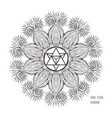 the soul star chakra symbol vector image vector image
