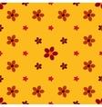 Vintage flower seamless pattern background vector image
